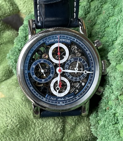 Chronoswiss Opus Chronograph Flag toy