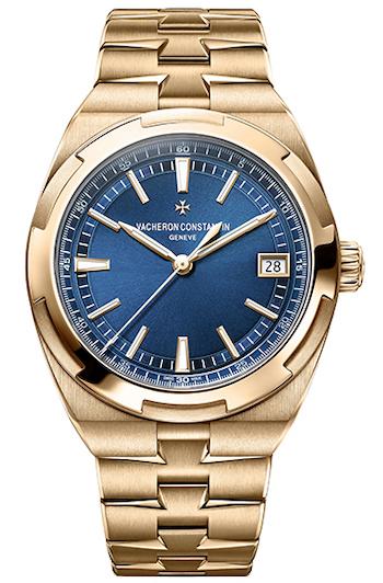 Vacheron Constantin Overseas gold watch