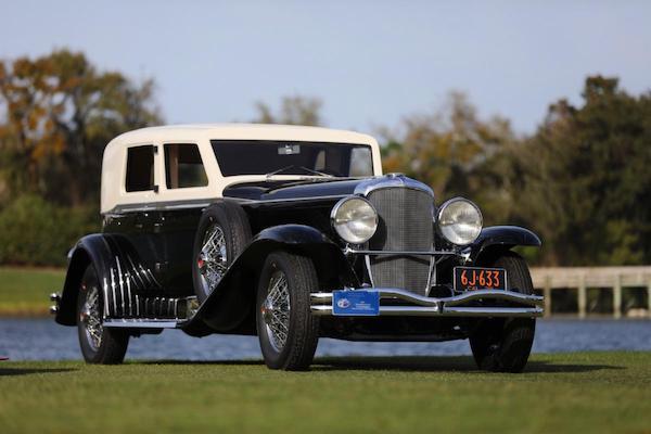 1929 Duesenberg J-218 Town Limousine. 2020 Best in Show, Concours d'Elegance