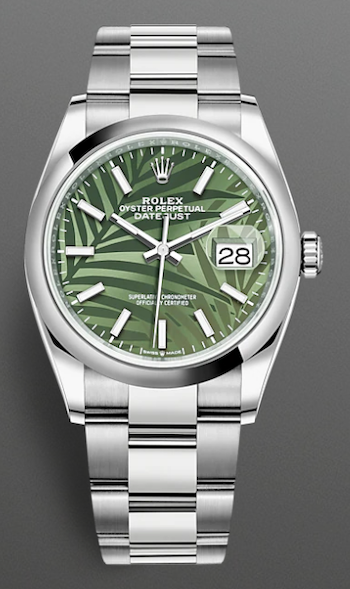 palm frond watch