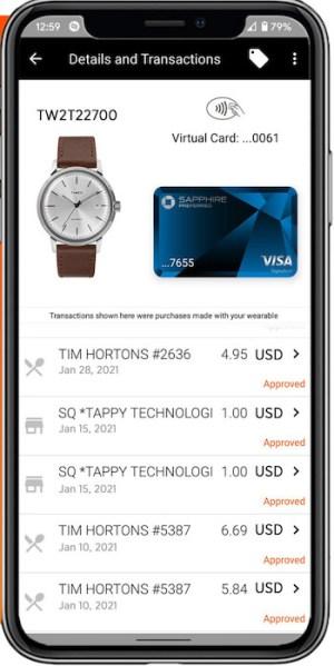 Timex Pay app