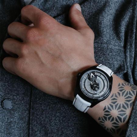 Ulysse Nardin Freak X Razzle Dazzle on wrist