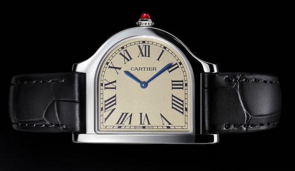 Cloche de Cartier on its side