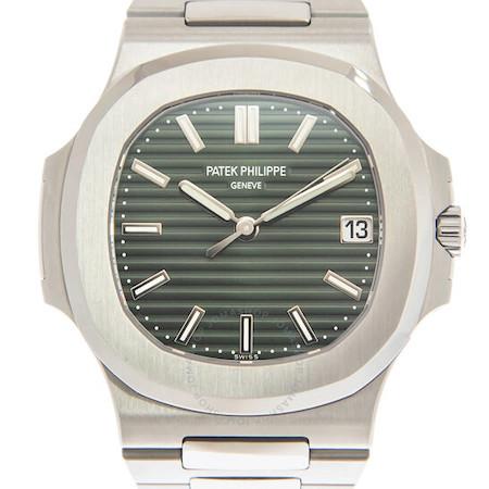 Green dial Patek Philippe Nautilus