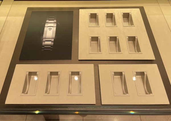 Rolex scarcity - empty case 1