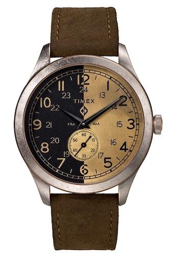 Timex x MadeWorn American Documents money shot
