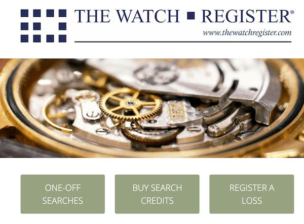 Watch register - Rolex danger