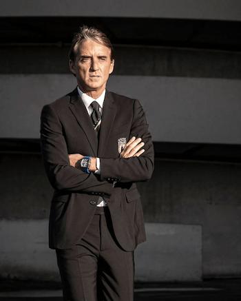 Roberto Mancini's Richard Mille off the cuff