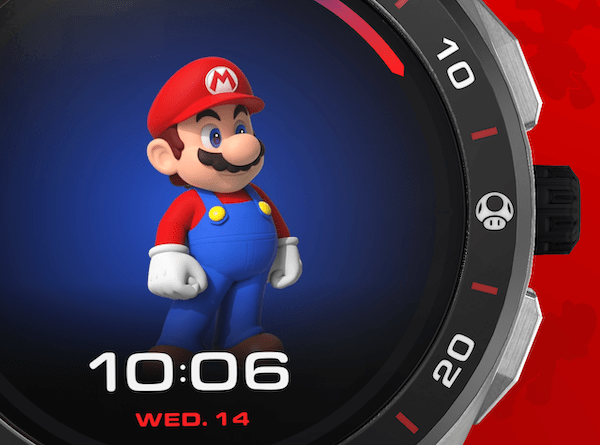 TAG Heuer Connected x Super Mario getting bigger