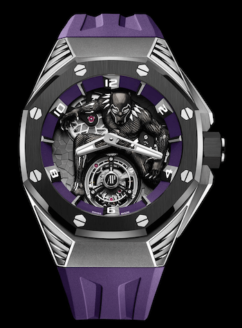 Co-branded watches - AP Black Panther