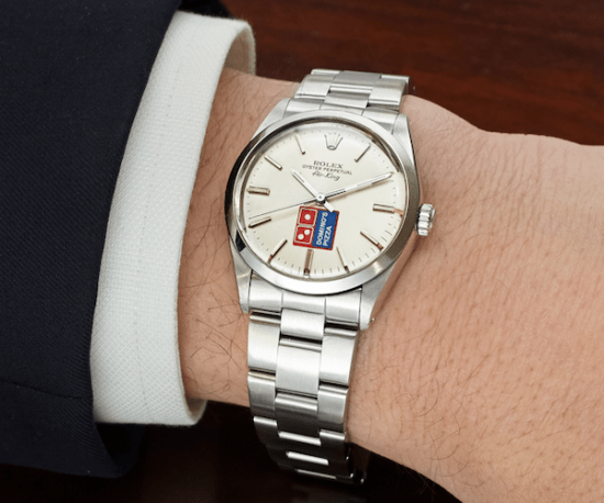 Co-branded watches - Rolex Dominoes
