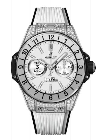 Luxury Smartwatch or Apple Watch white diamonds Hiblot