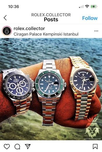 Three Rolex