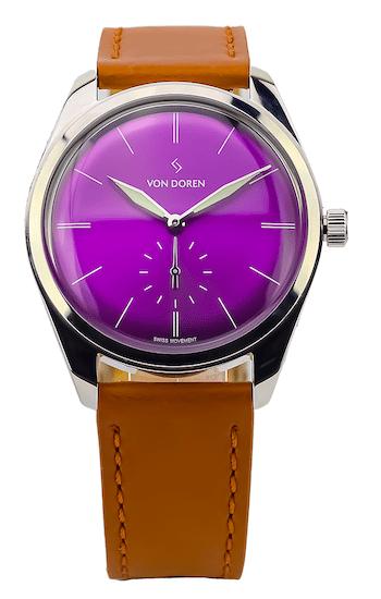 Van Doren Watches Runde Purple