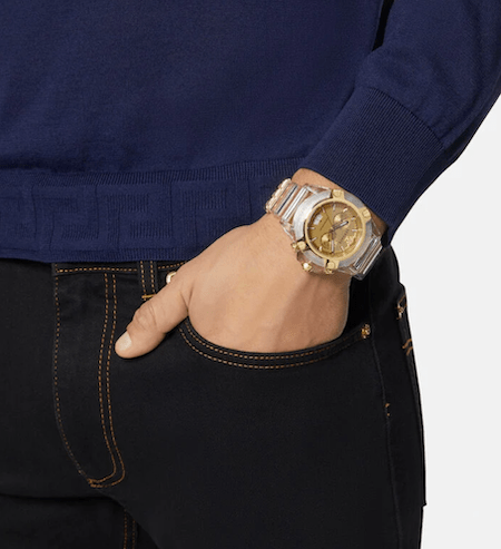 Versace watches Icon in jeans