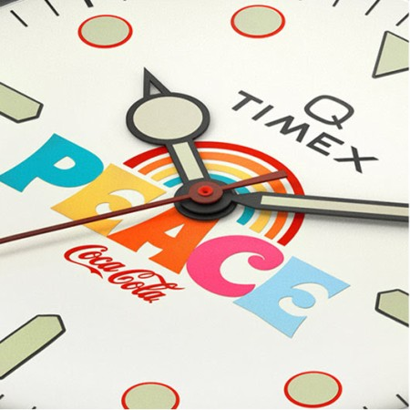 Timex x Coca-Cola close up
