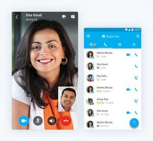 Skype girl contacts