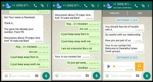 Is it possible to spy WhatsApp messages from another phone