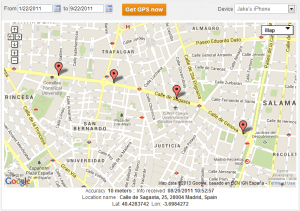 Using TheTruthSpy for tracking a cell phone location by number only