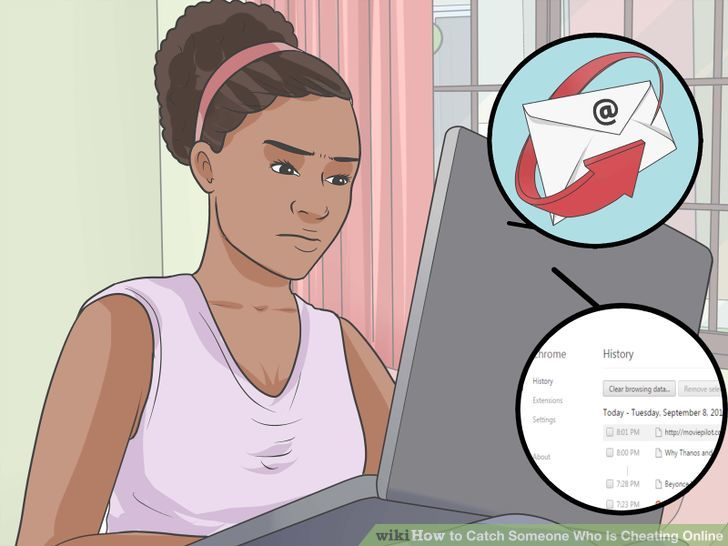 How to find someones online activity