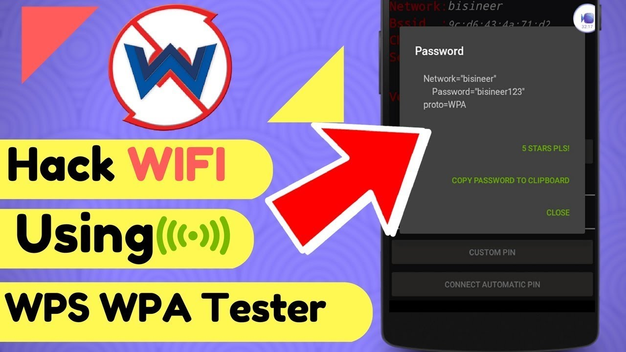 Part 2: Hacking the android device Wi-Fi password