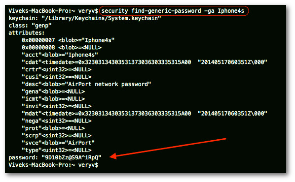 Part 4: Hacking Mac Wi-Fi password