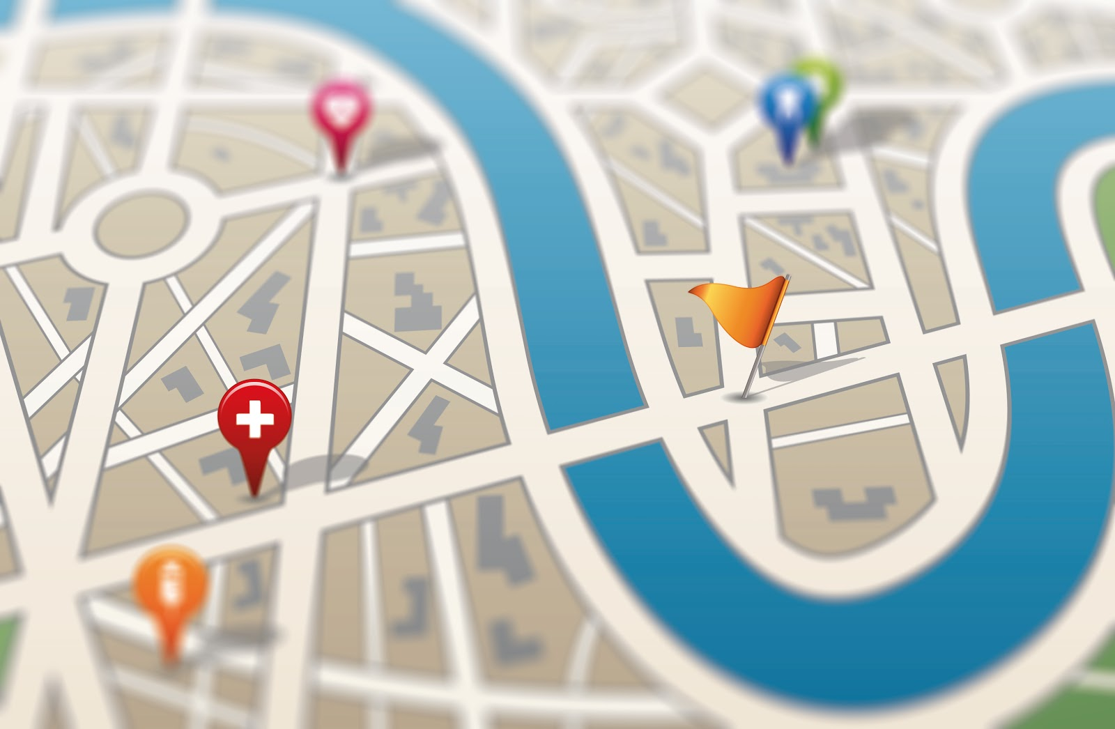 3# track location using Google map and online tools