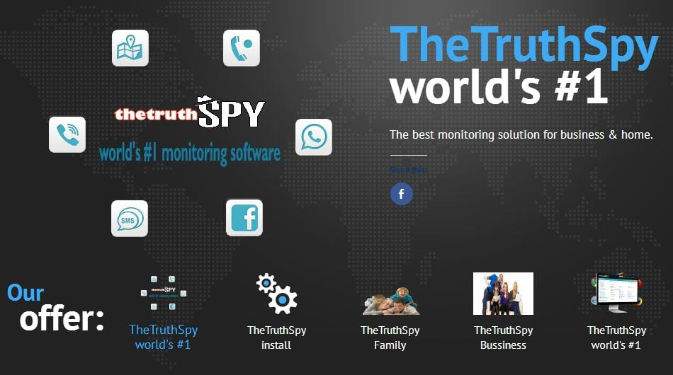 #1 Track easily cell phone location by number by using TheTruthSpy App