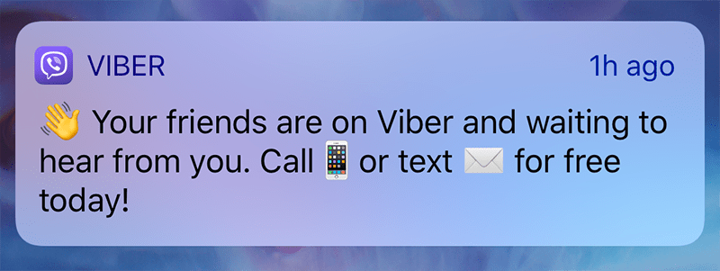 Method 5: How to hack Viber via catch Viber Notification (only Android)