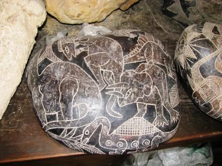 Ica Stones Dinosaurs