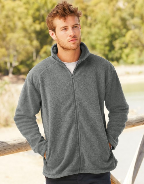Fruit Of The Loom Men's Full Zip Fleece