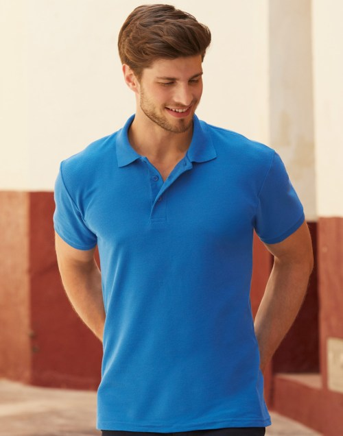 Fruit Of The Loom Men's 65/35 Heavyweight Polo