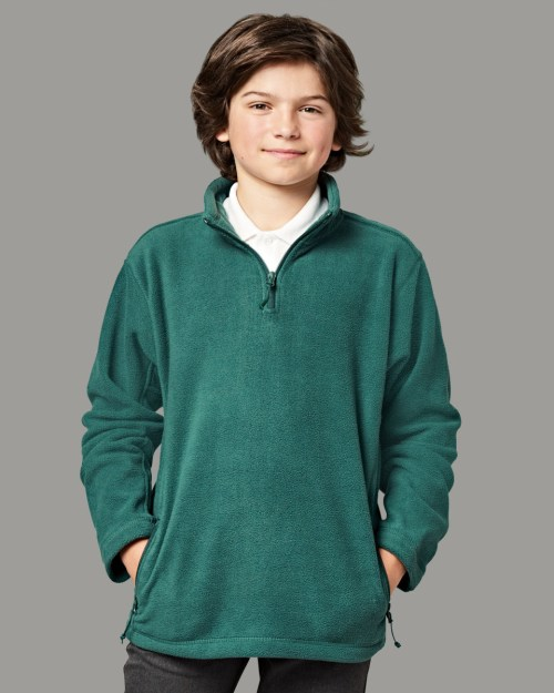 Jerzees Schoolgear Children's 1/4 Zip Outdoor Fleece