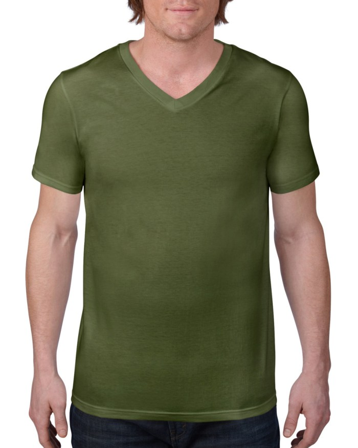 Anvil Adult Fashion Basic V-Neck Tee