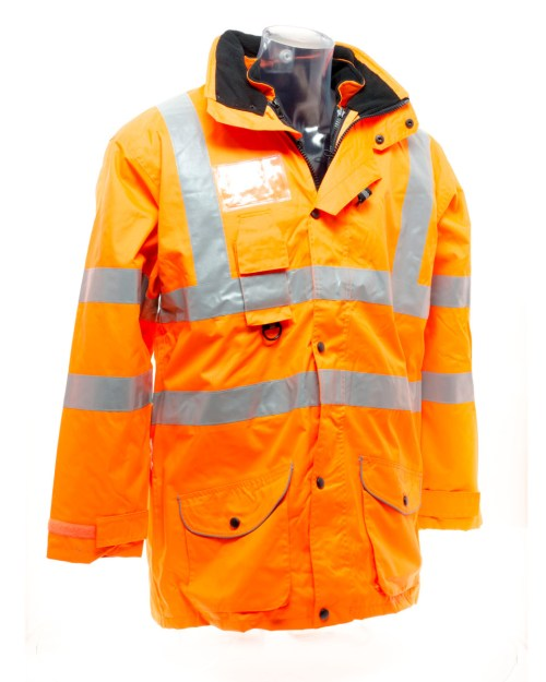 Yoko Hi-Vis Multi-Function 7-in-1 Jacket