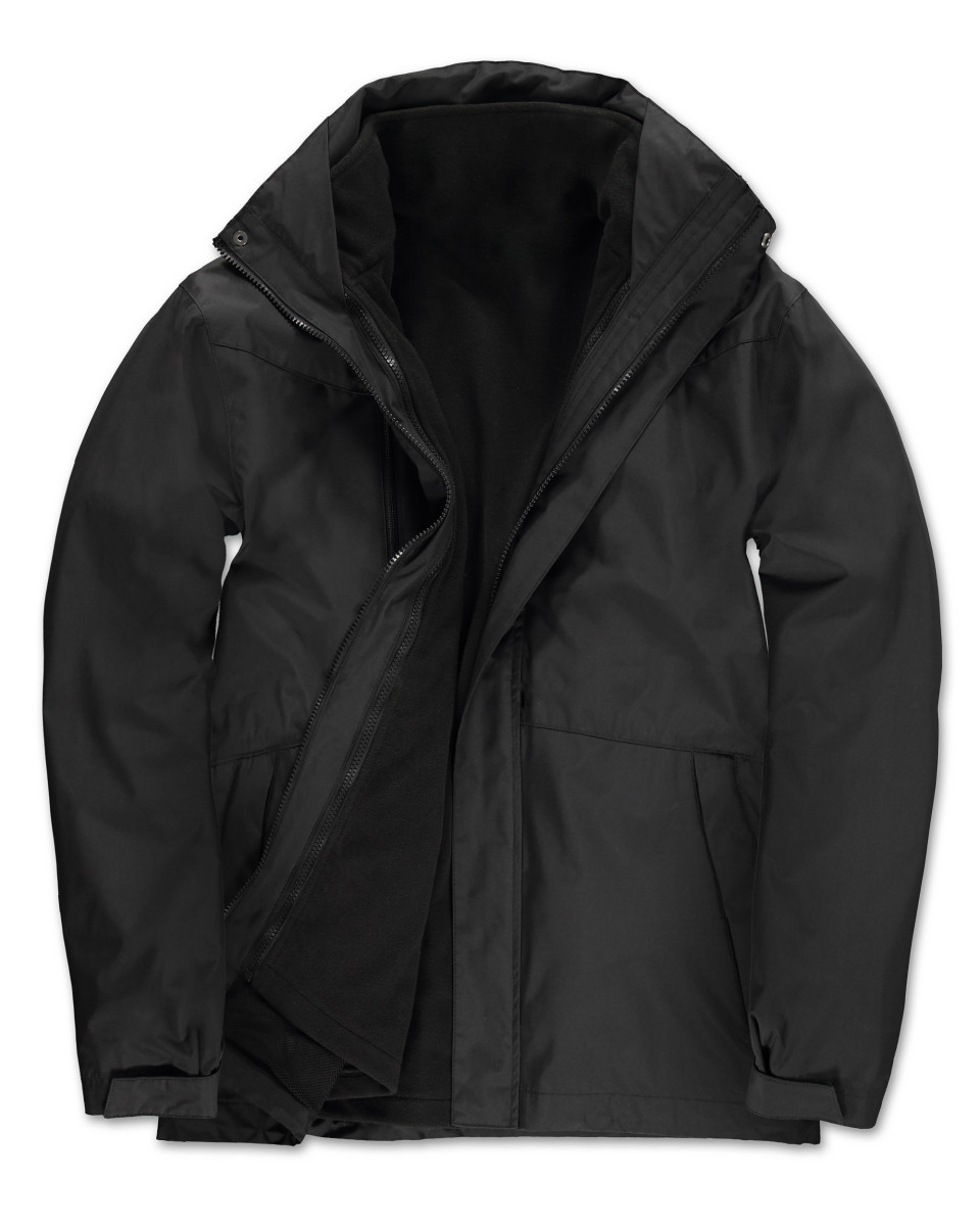 B and C Men's Corporate 3-in-1 Jacket