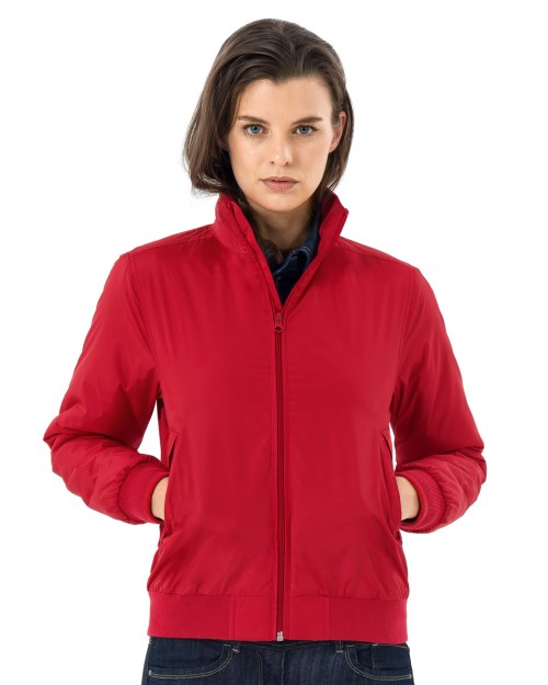 B and C Women's Crew Bomber Jacket