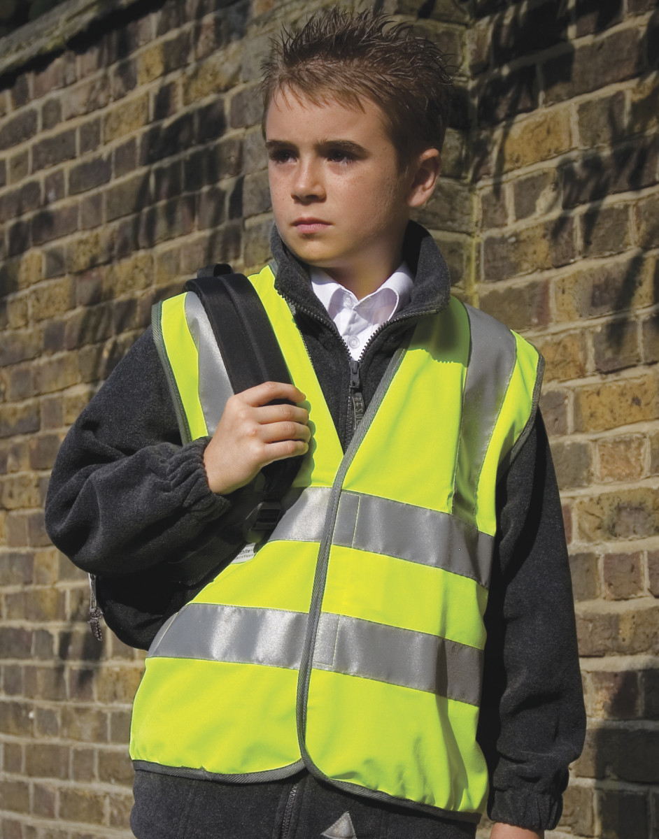 Result Safeguard Junior Hi Vis Vest