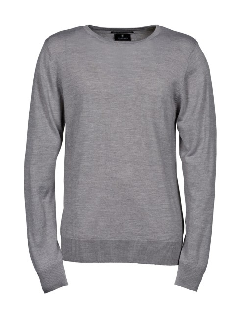 Tee Jays Men's Crew Neck Knitted Sweater