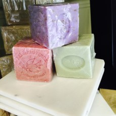 put together the perfect powder bathroom soap set...pick the perfect scent and dish!