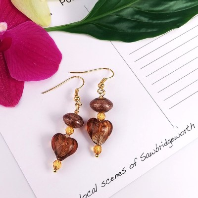 Glass bead Earrings