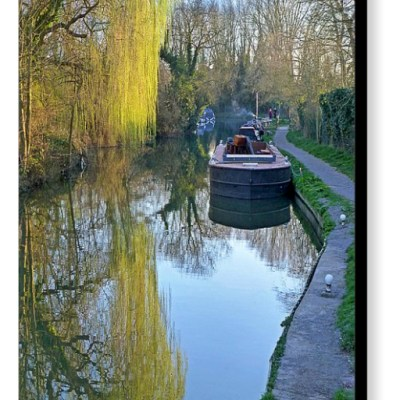 River Reflections - Photograph on Canvas