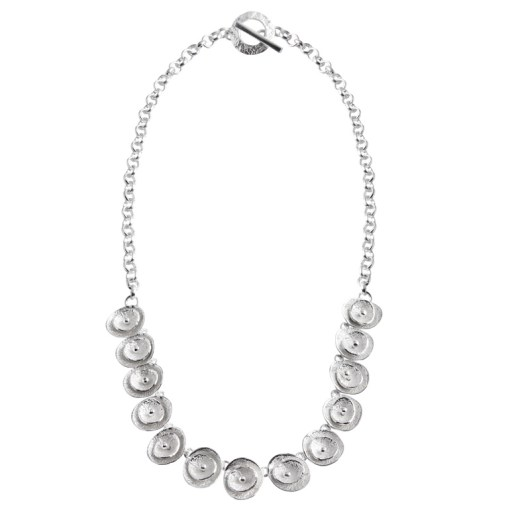 CL294 - Poppy sterling silver necklace
