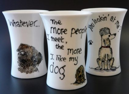 Hipster Bone China Mugs
