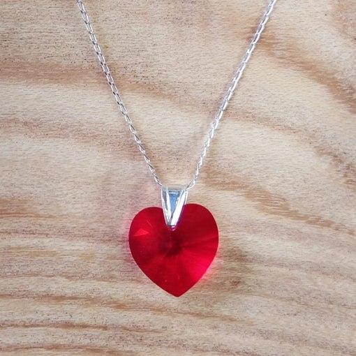 Swarovski & Sterling Silver Necklace