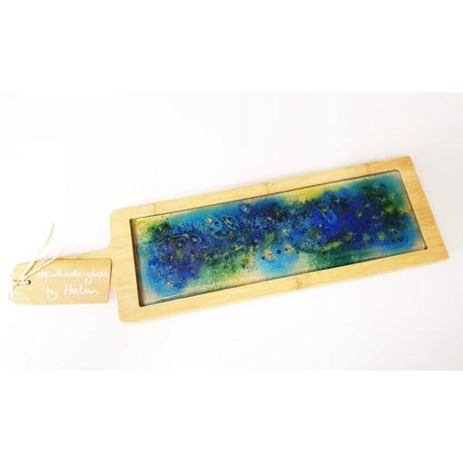 Handmade Glass Cheese Board