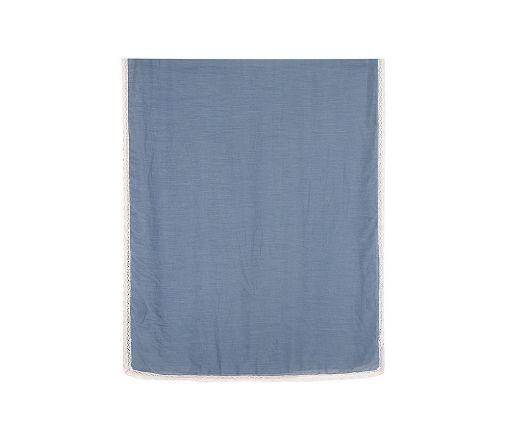 Steel blue scarf