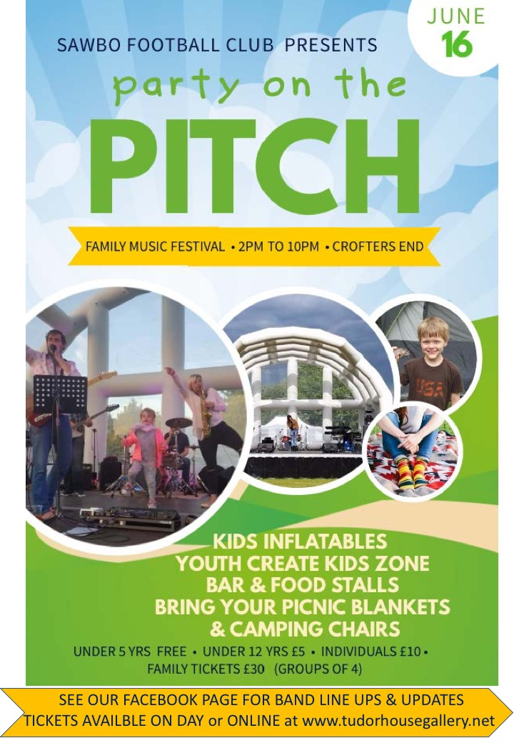 Party On The Pitch 16 June