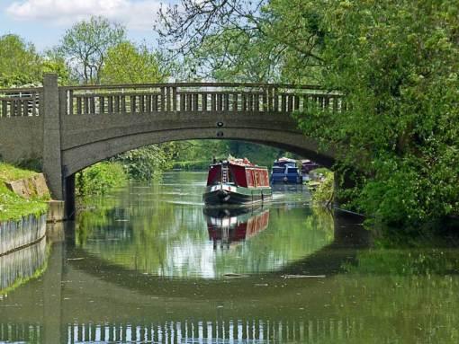 River at Harlow Mill