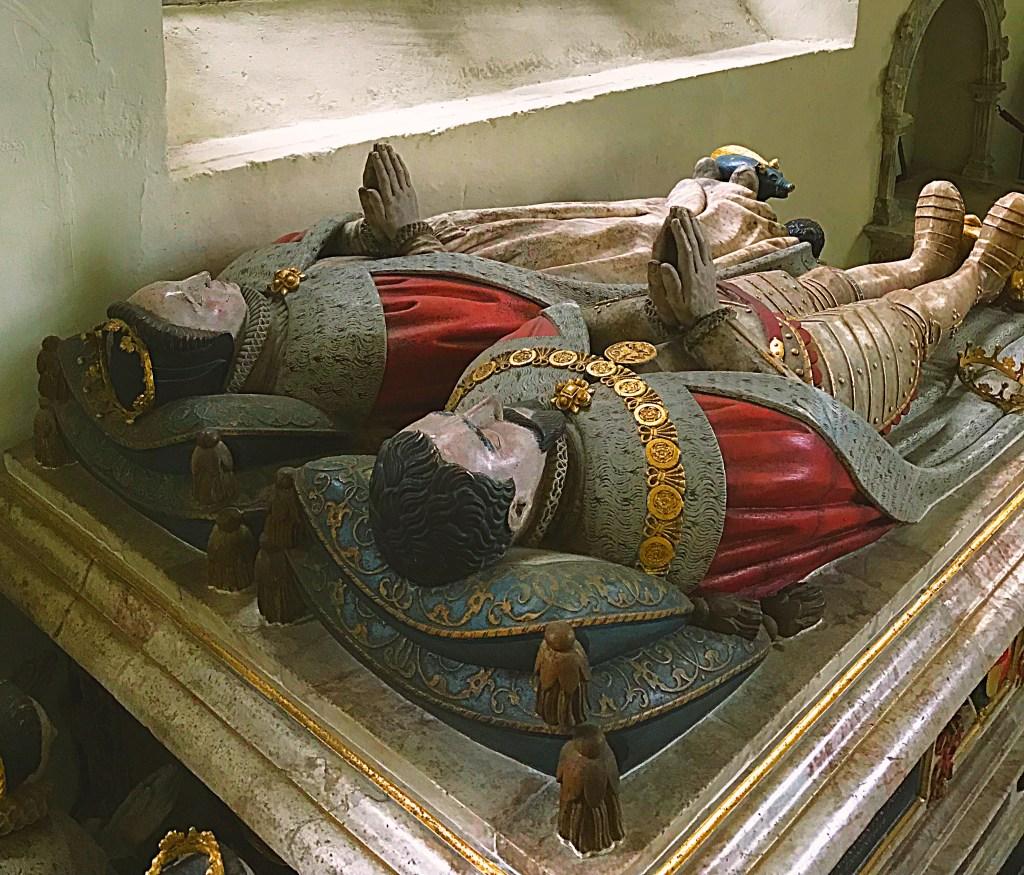 The tomb of Henry Howard, Earl of Surrey one of the Howard tombs at Framlingham